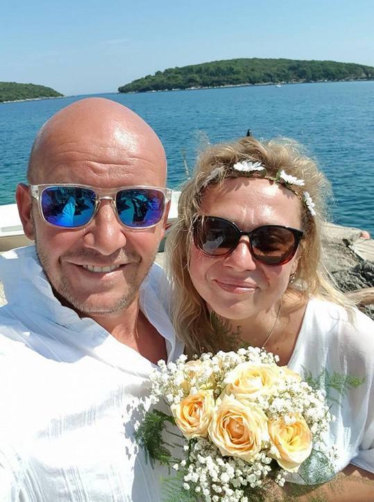 Pavel Nečas si vzal svou partnerku krátce po seznámení.