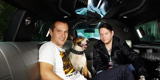 Matěj Ruppert a jeho pes byli hosty Míry Hejdy v Limuzíně.