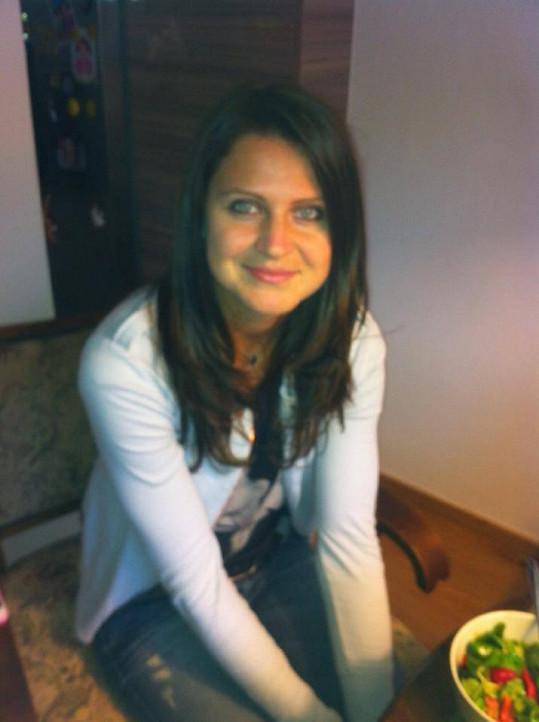 Lucie Šafářová změnila barvu vlasů.