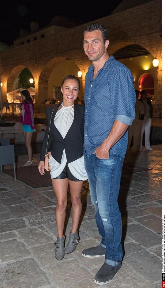 Snoubenci Hayden Panettiere a Vladimir Kličko