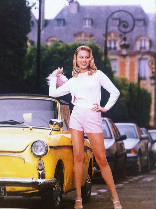 Simona Krainová měla vždy ukázkovou postavu.