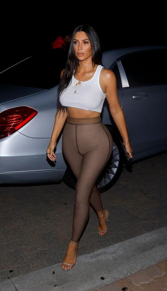 Kim na sobě zapracovala a opět jí stouplo sebevědomí.