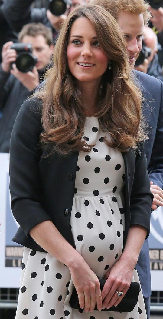 Vévodkyně z Cambridge Catherine