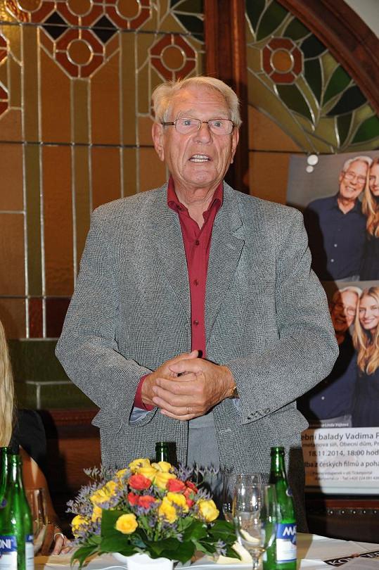 Vadim Petrov je autorem více než 1300 světoznámých skladeb. Je autorem řady filmových melodií, například písně z filmu Za trnkovým keřem nebo hudby z pohádky o Krtečkovi.