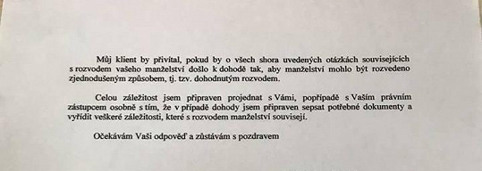 Druhá strana dokumentu