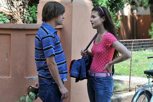 Jirka a Eva jako Petr a Eliška.