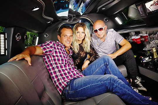 Míra Hejda si do pořadu Limuzína pozval populární diskotékové duo Verona.