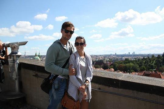 Jan Hájek a Dominika Hrmová spolu chodí již půl roku.