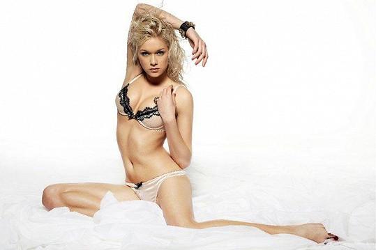 Dominika Kadlčková ještě jako blondýna.