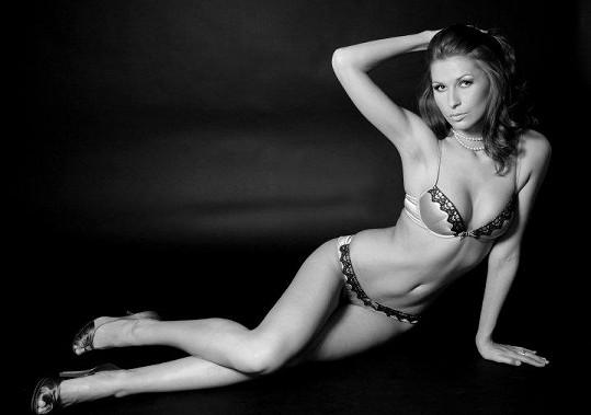 Darja je jednou z nejhezčích modelek u nás.