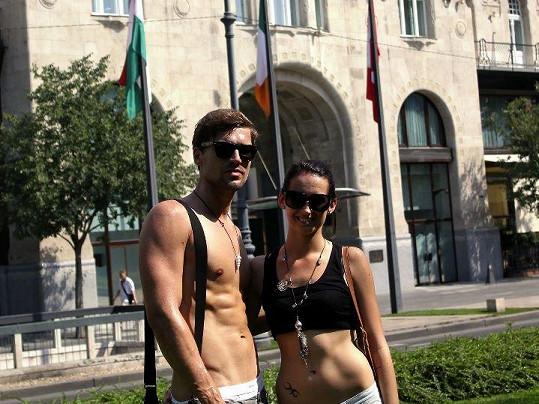 Honza se před nedávnem rozešel se Slovenkou Dominikou Hrmovou.