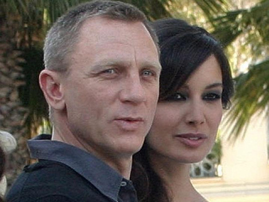 Daniel Craig a jeho poslední Bond girl Bérénice Marlohe.