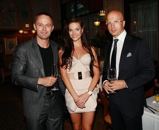 Andrea s manželem a lobbistou Pavlem Teličkou.