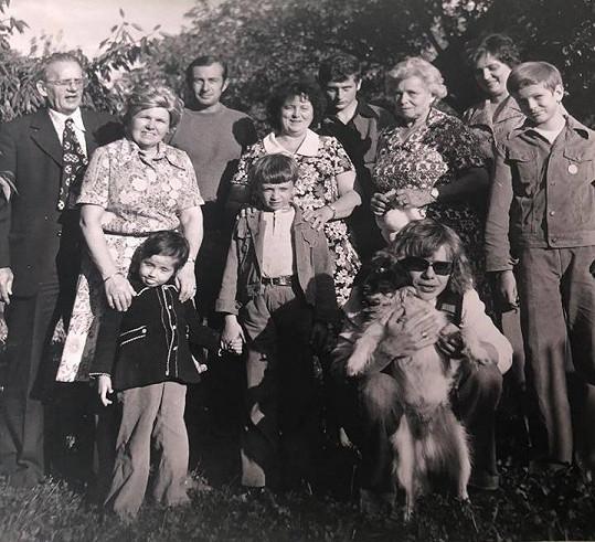 Starý rodinný snímek