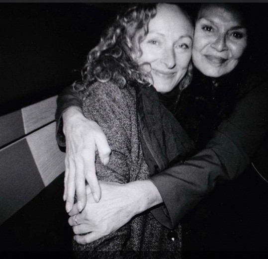 Alice Kovácsová a Věra Gondolánová byly blízké kamarádky.