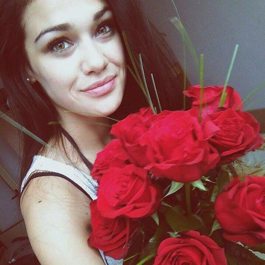 Pokud prý Andrea Kalousová na Valentýna dostane nějakou pozornost, klidně vpodobě růže, udělá jí to ohromnou radost.