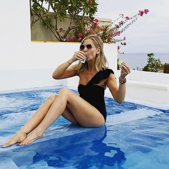 Sarah Michelle Gellar se pochlubila gifem v plavkách.