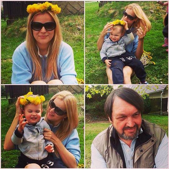Rodinka Koktů si užívá jara.
