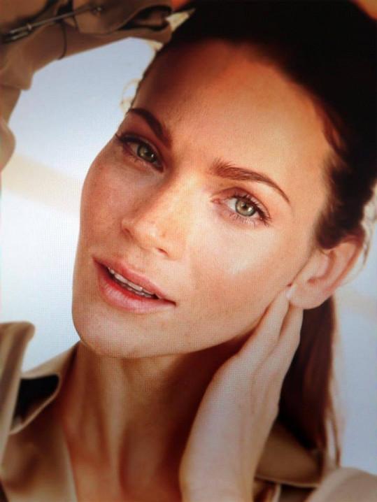 Slovenská modelka vypadá skvěle i bez make-upu.