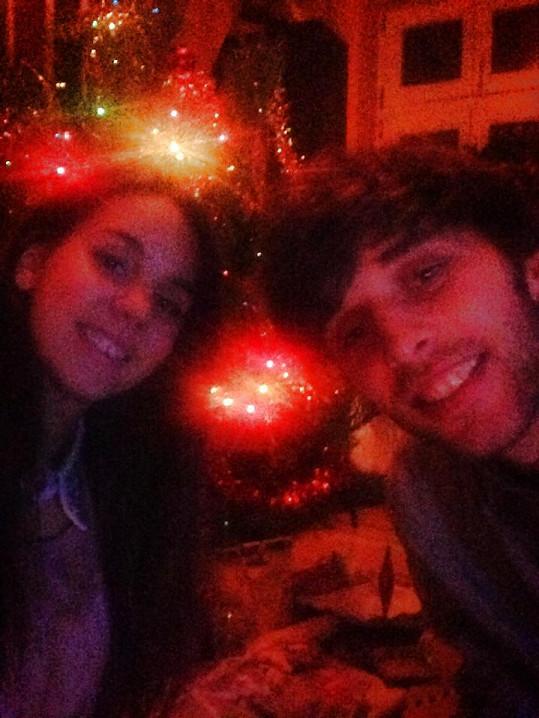 Michaela Doubravová a Roman Tomeš měli svoje první Vánoce.