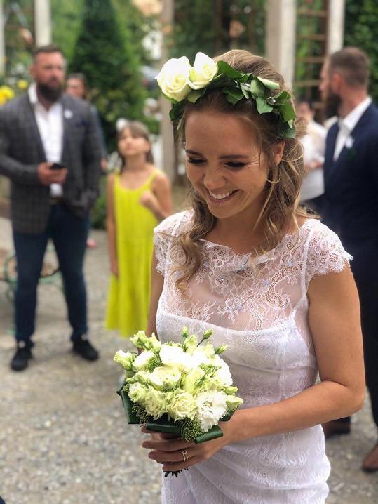 Lucie jako nevěsta