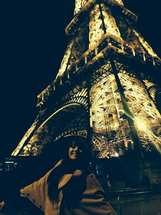 Nechyběla návštěva Eiffelovky.