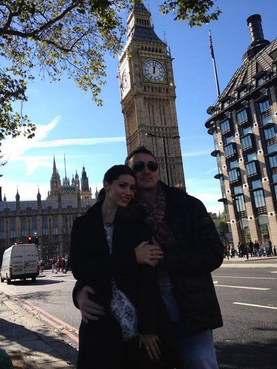 Zpěvačka si nedávno užila romantický víkend s přítelem v Londýně.