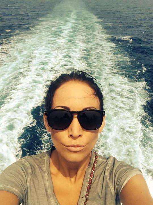 Agáta na lodi