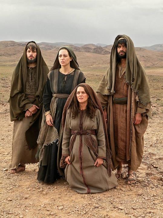 Herečka si zahrála v příběhu mapujícím život Ježíše.