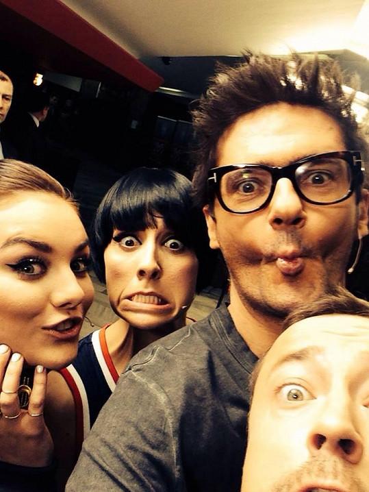 Farna a další porotci X Factoru