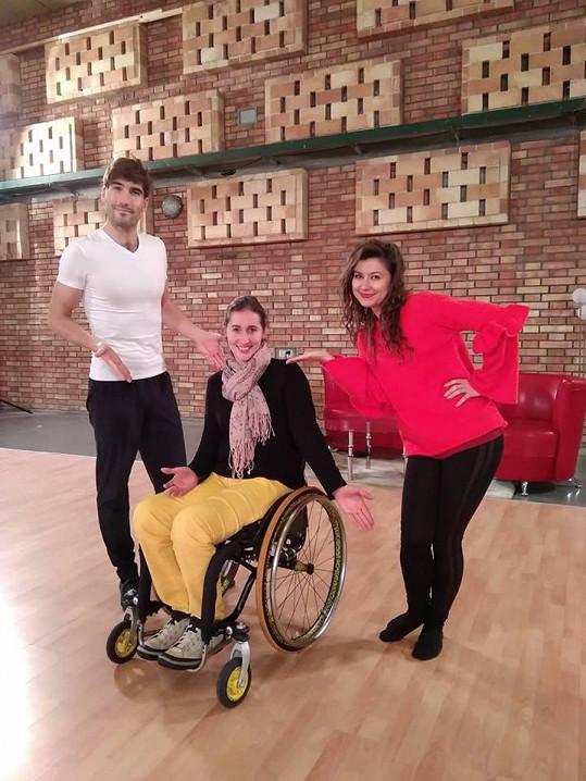 David Svoboda s Veronikou Lálovou a Hankou Doležalovou