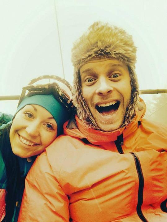 Agáta nový rok přivítá nejen s malým Kryšpínem, ale i s manželem Jakubem Prachařem.
