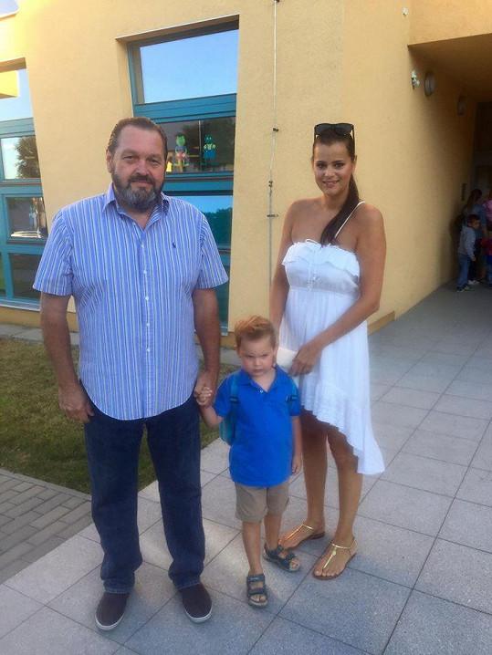 Ornella Koktová, Josef Kokta a syn Quentin