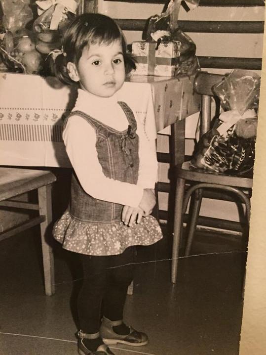 Dvouletá Monika