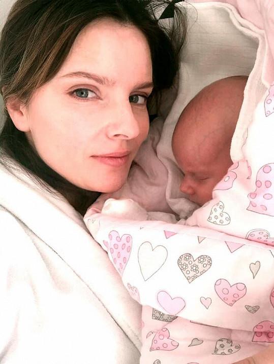 Martina Dvořáková je maminkou dcery Terezy.