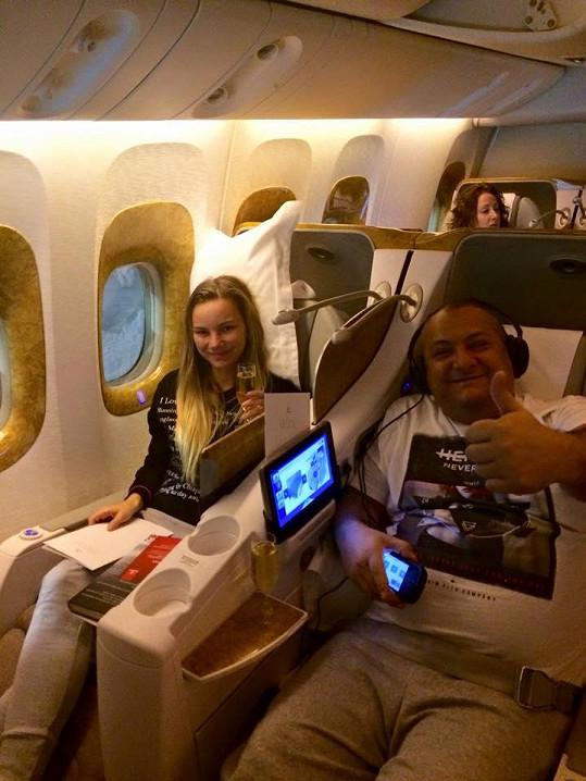 Patrik Hezucký naopak vyrazil na poklidnou dovolenou do Thajska....