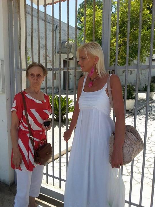 S maminkou Martucciho, ráznou hraběnkou