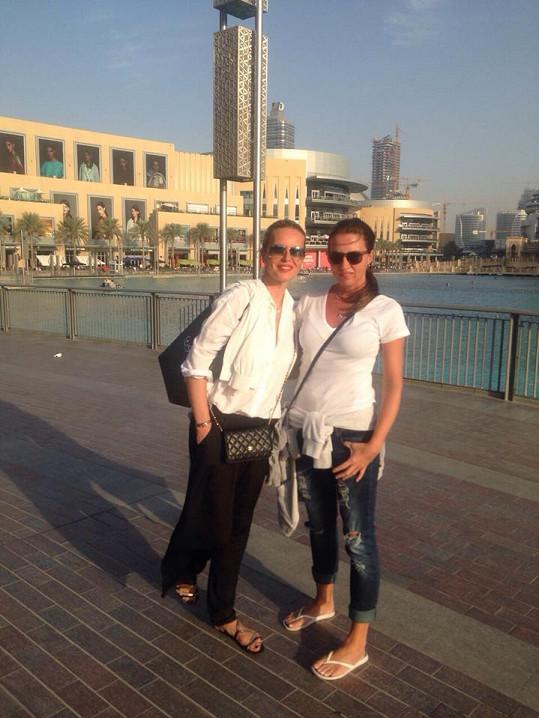 Ségry si užívaly dovolenou v Dubaji.