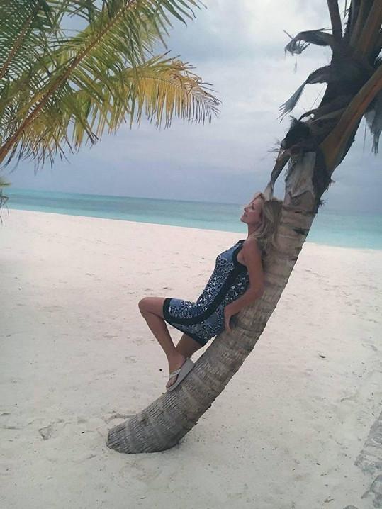 Na Maledivách