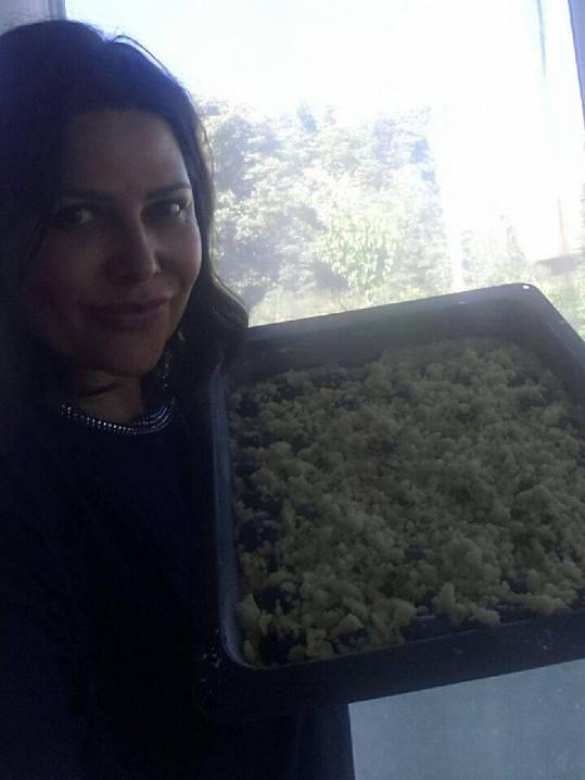 Ilona se svým nejnovějším kulinářským počinem
