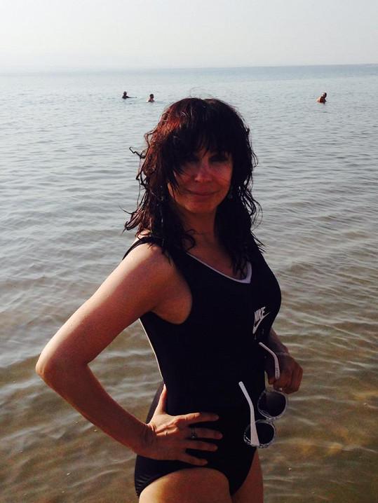 Nela Boudová si užívá dovolenou v Jordánsku.