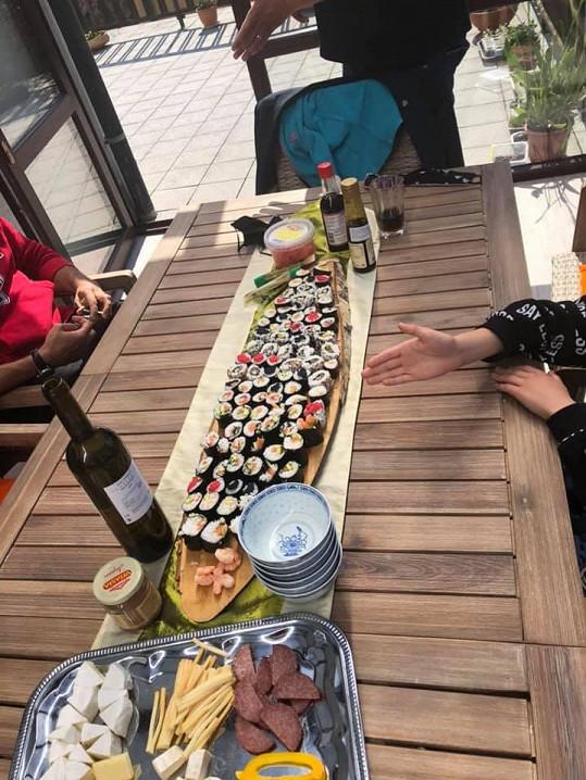 Ani domácí sushi