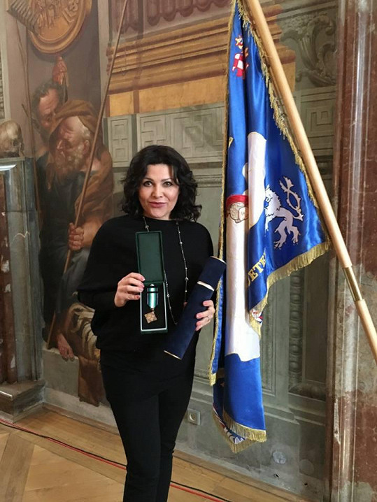 Ilona Csáková se dočkala prestižního ocenění.