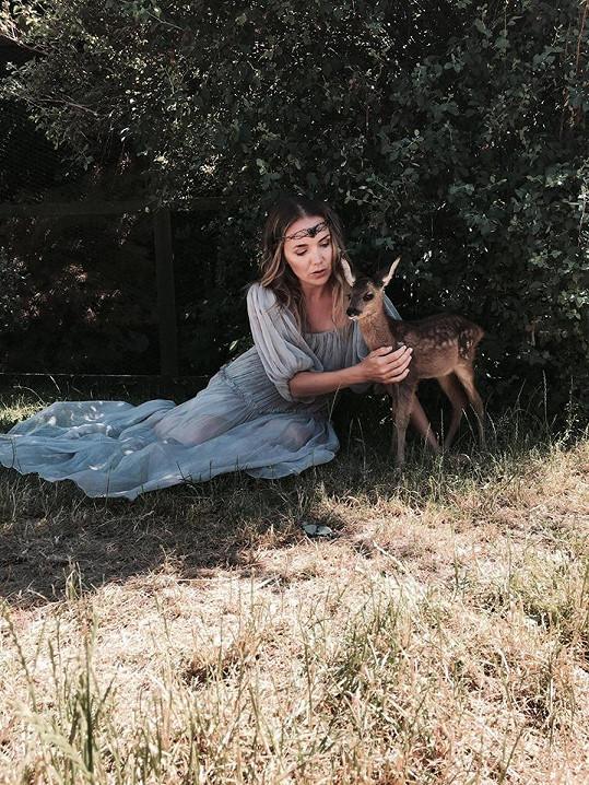 Lucie Vondráčková se donedávna mazlila jen se zvířátky.