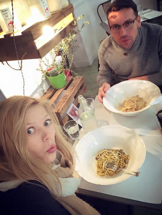A nejlepší špagety si dali v Římě.