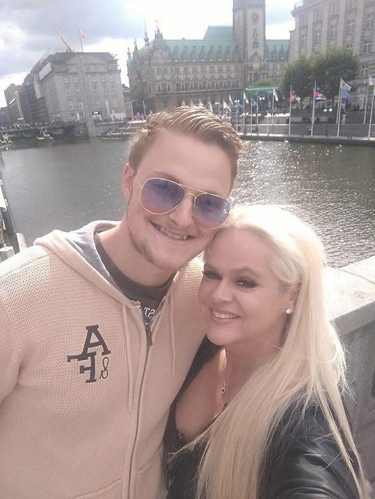 Monika Štiková s o 25 let mladším přítelem