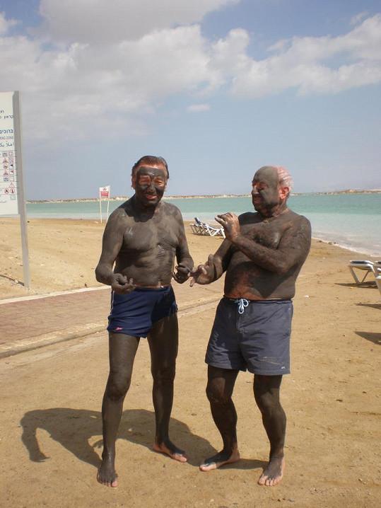 Na břehu Mrtvého moře s Felixem Slováčkem