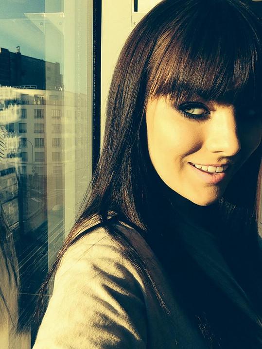 V Paříži natáčela písničku.