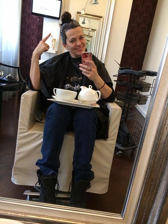 Marta Jandová vypadá skvěle i bez make-upu.