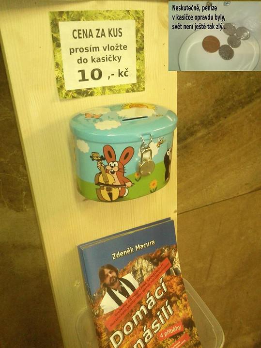 Prodejní automat Zdeňka Macury
